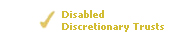 Disabled Discretionary Trusts
